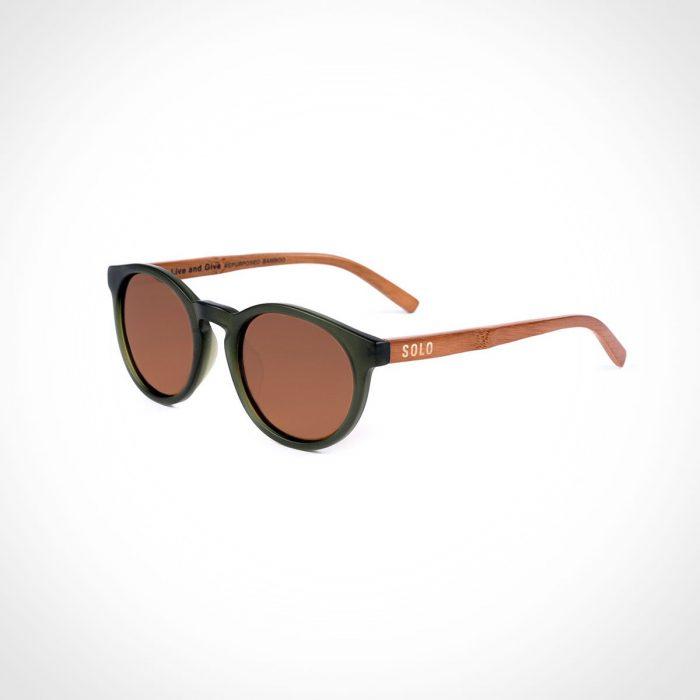 SOLO Guyana Repurposed Bamboo Sunglasses