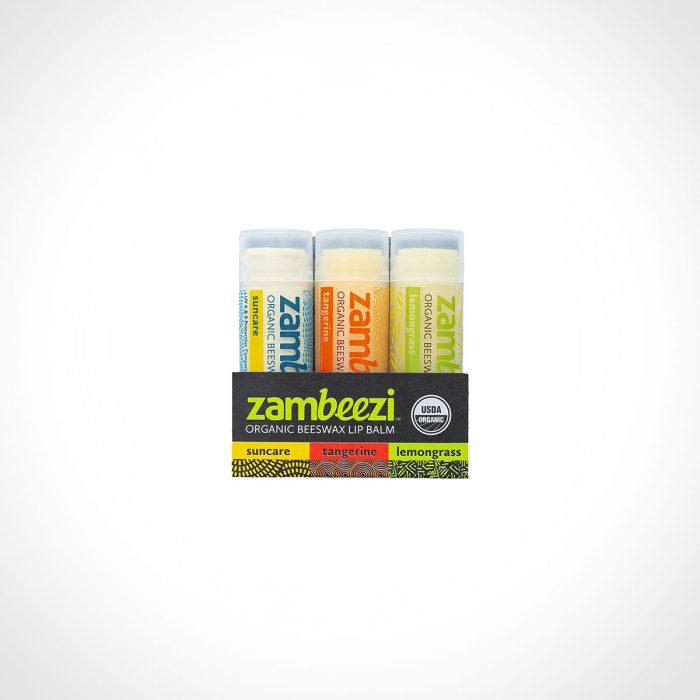 Zambeezi Organic Beeswax Lip Balm
