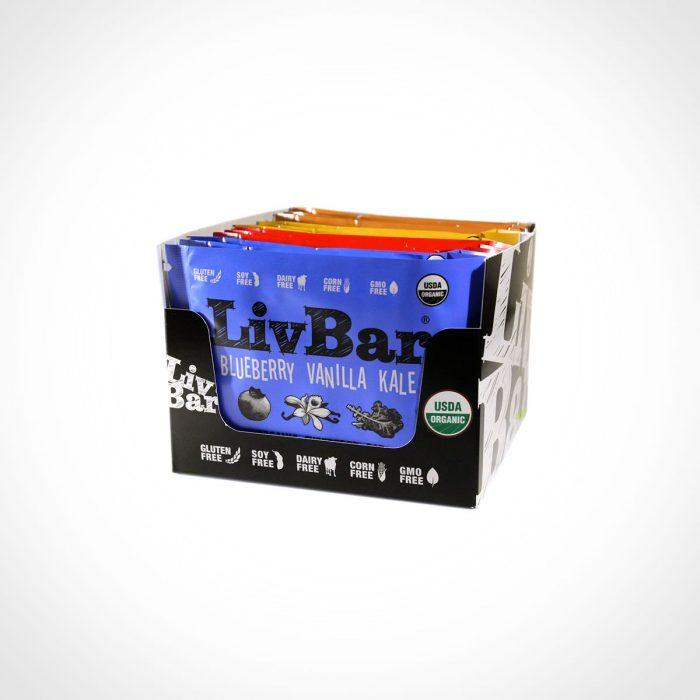 LivBar Organic Superfood Bars