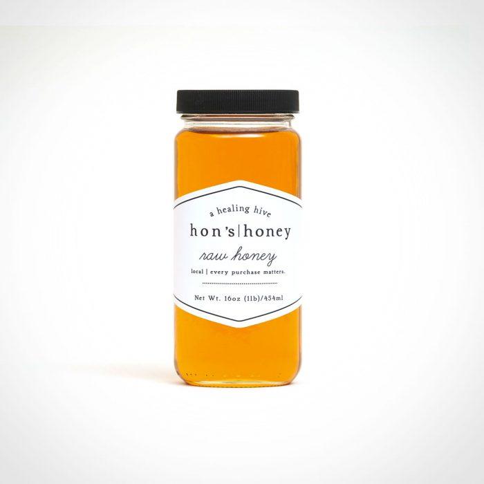 Hon's Honey Raw Local Honey