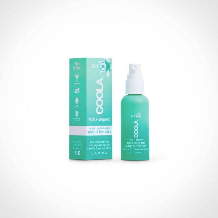 COOLA Organic Scalp & Hair Mist Sunscreen