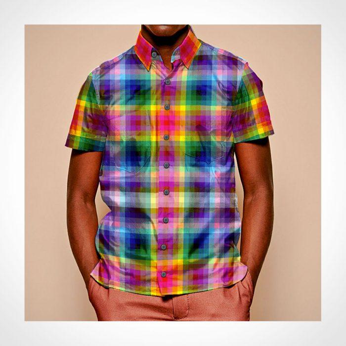 JCRT The 2020 Pride Plaid Short Sleeve Shirt
