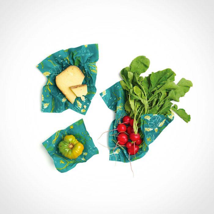 Bee's Wrap Ocean Print Food Wraps