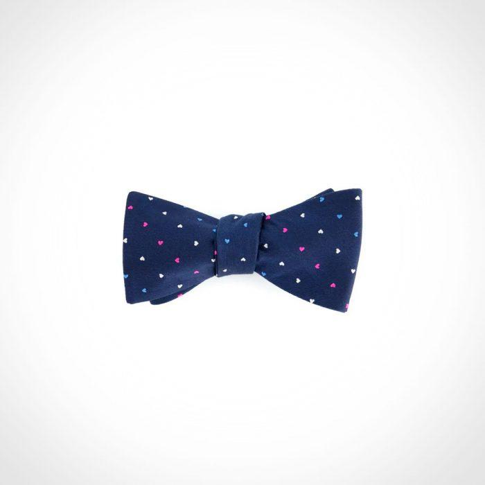 Tie Bar The True Ally Navy Bow Tie