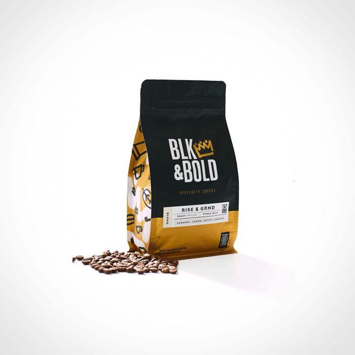 BLK & Bold Rise & GRND Coffee Blend