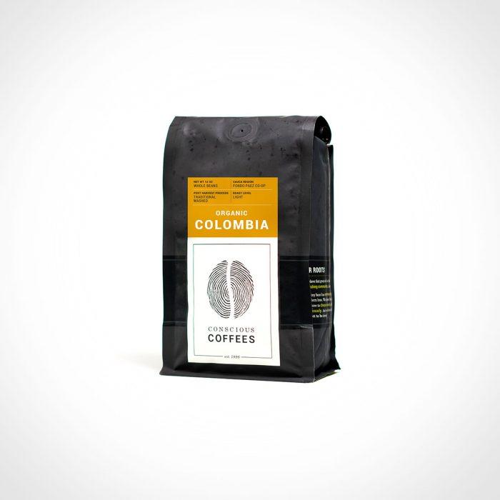 Conscious Coffees Organic Whole Bean Coffee