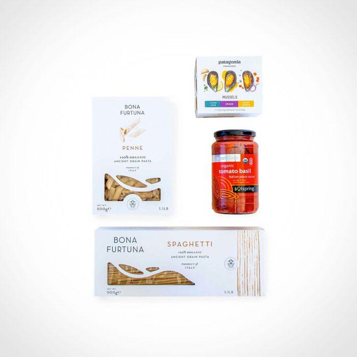 Patagonia Provisions Pasta + Mussels Sampler