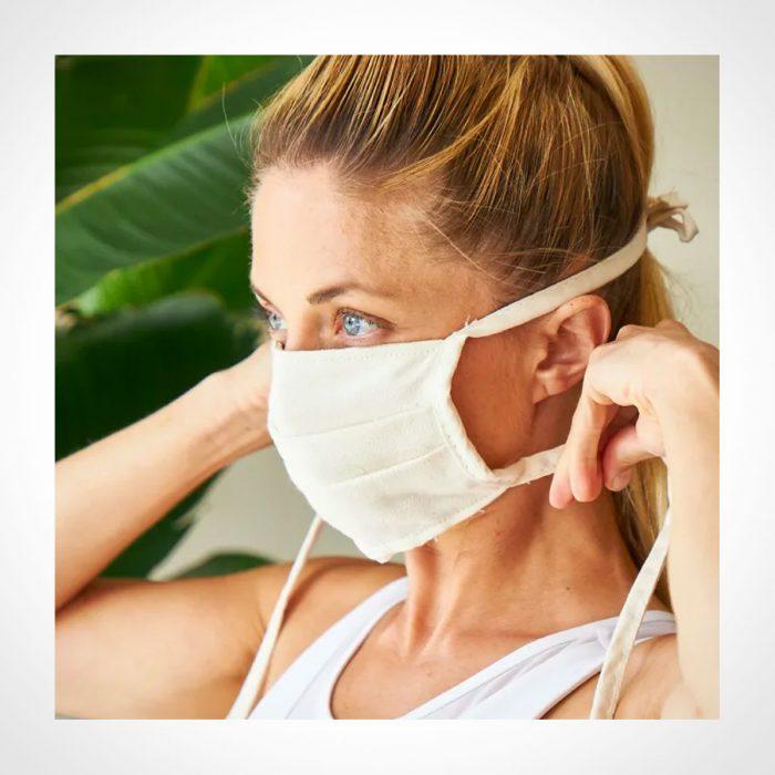 Avocado Organic Cotton Face Masks