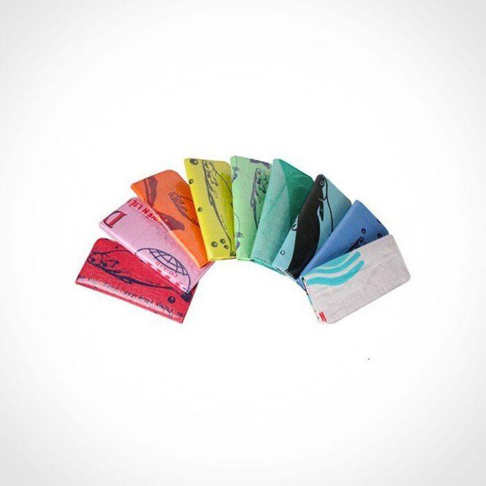 Malia Recycled Feed Bag Long Wallet